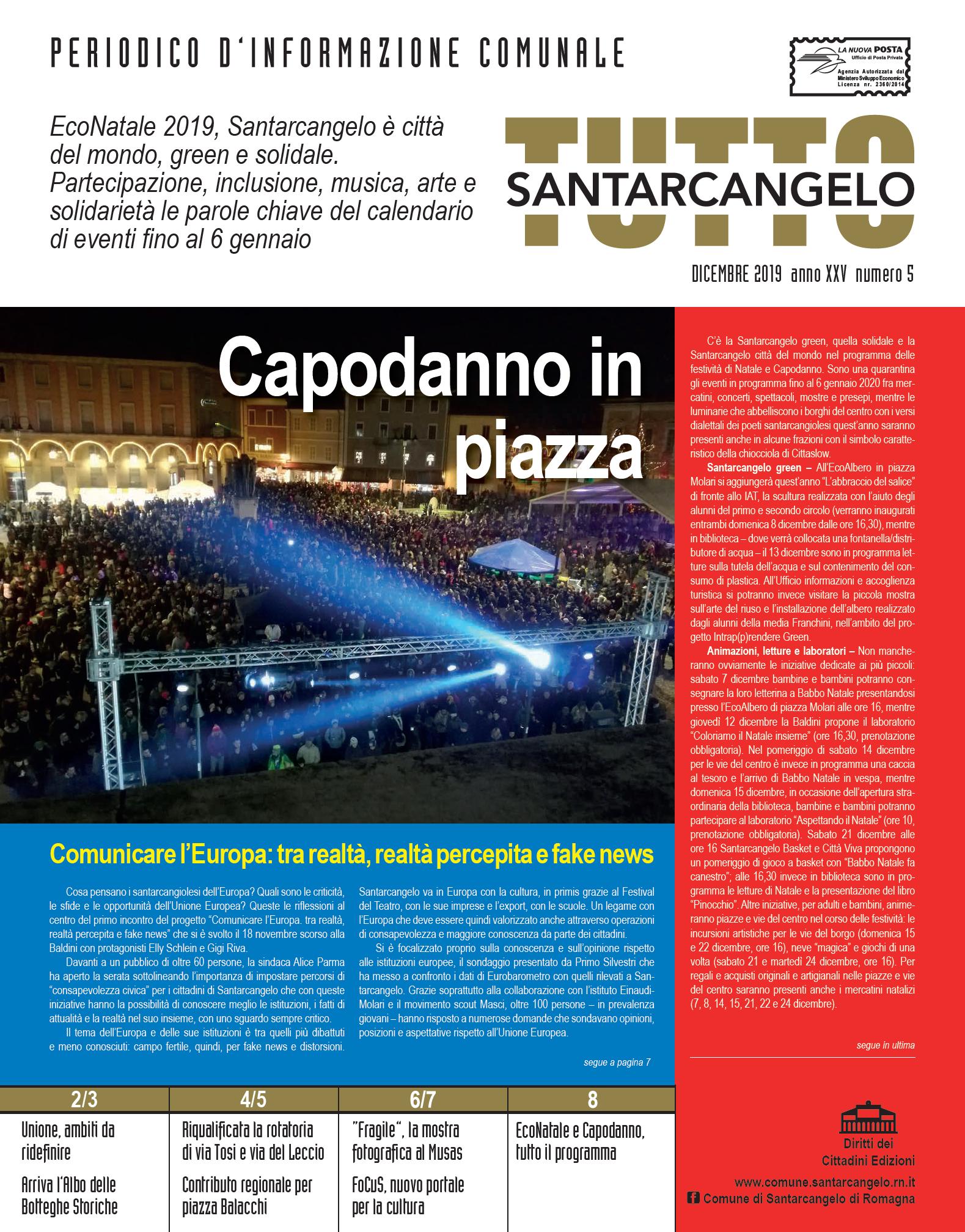 TuttoSantarcangelo, n. 5_2019
