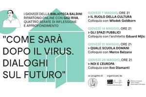 """""""Quale scuola domani"""", giovedì 21 maggio l'incontro con Gigi Riva e Marco Balzano"""