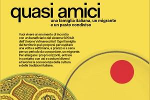 """""""Quasi Amici"""", in Valmarecchia grande successo per i pasti condivisi con i migranti dello SPRAR"""