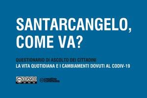 """""""Santarcangelo, come va?"""", la città si interroga sul periodo dell'emergenza sanitaria"""