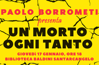 """""""Un morto ogni tanto. La mia battaglia contro la mafia invisibile"""", Paolo Borrometi presenta il suo libro a Santarcangelo"""