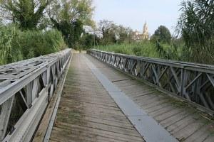 Al via i lavori di manutenzione al ponte bailey a San Vito