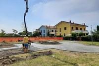 Al via i lavori per l'area verde attrezzata e accessibile in via del Biancospino