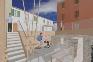 Approvato il progetto definitivo-esecutivo per la riqualificazione di piazza Balacchi e il restauro della sottostante Casamatta