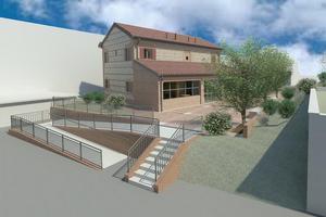 """Area Ospedale di Santarcangelo, tutto pronto per il via ai lavori della """"Casa colonica"""", dedicata a servizi per l'infanzia"""