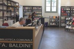 Biblioteca Baldini, le iniziative del fine settimana