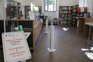 Biblioteca Baldini, riaprono su prenotazione le sale studio e la consultazione diretta agli scaffali