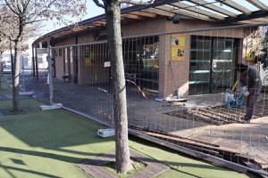 Campo della Fiera, iniziati i lavori di ristrutturazione e ampliamento della struttura destinata a bar