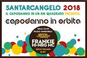 Capodanno in un km quadrato, Frankie hi-nrg mc ospite d'eccezione della festa in piazza Ganganelli