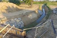 In fase di ultimazione il nuovo canale scolmatore rio Roveto
