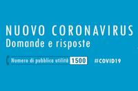 Coronavirus, aggiornamento dalla Prefettura - martedì 25 febbraio