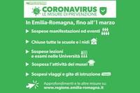 Coronavirus, aggiornamento dalla Prefettura - lunedì 24 febbraio