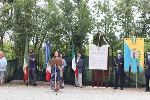 Eccidio di Fossoli, l'intervento della sindaca Parma