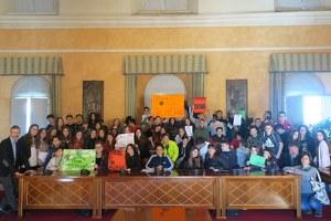 Friday for future, gli studenti di Santarcangelo in municipio per combattere i cambiamenti climatici