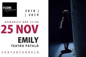 """Giornata contro la violenza sulle donne, domenica 25 novembre lo spettacolo """"Emily. Il giardino nella mente"""""""