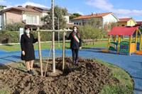 Giornata nazionale dell'albero, completati i lavori al parco in via del Biancospino