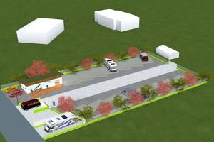 Giovedì 8 novembre sarà inaugurata la nuova area camper