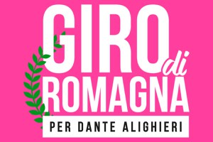 Giro di Romagna per Dante, sabato 24 aprile il passaggio dei ciclisti a Santarcangelo