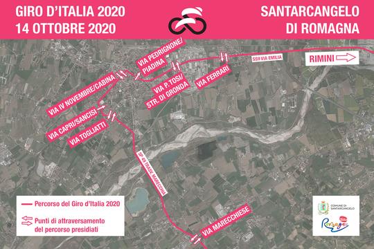 Giro d'Italia Santarcangelo 14.10.2020