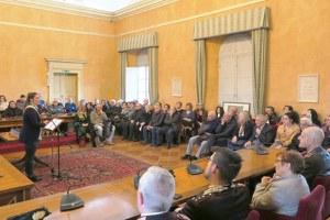 Grande Guerra, il sindaco ha consegnato le medaglie-ricordo agli eredi dei caduti
