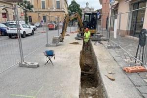 I lavori alla rete del gas fanno riscoprire l'antica Via Emilia