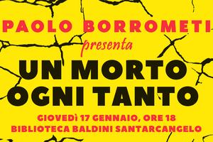 """Il giornalista Paolo Borrometi presenta a Santarcangelo il libro """"Un morto ogni tanto. La mia battaglia contro la mafia invisibile"""""""