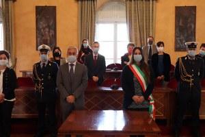 Il Prefetto di Rimini in visita istituzionale a Santarcangelo