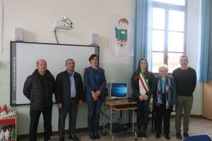 Il sindaco Parma e l'assessore Fussi in visita alla Pascucci