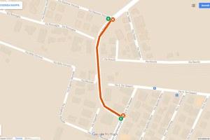Il sottopasso ferroviario di San Vito chiuso al traffico dal 6 al 20 settembre