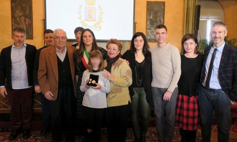 Arcangelo d'Oro 2019 - Giunta e famiglia Marchi