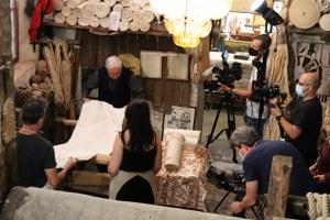 In corso a Santarcangelo le riprese di una produzione televisiva statunitense