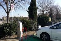 Inaugurata questa mattina nel piazzale Campana la rete di ricarica per veicoli elettrici