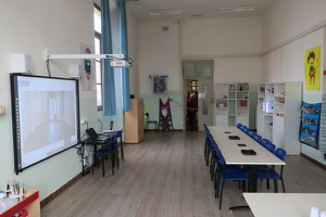 """Inaugurato alla scuola """"Pascucci"""" un nuovo atelier creativo"""