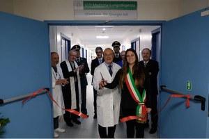 """Inaugurato il reparto di Medicina-Lungodegenza dell'ospedale """"Franchini"""""""