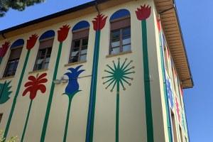 Sabato 10 aprile in diretta Facebook l'inaugurazione del nuovo murale di Agostino Iacurci alla scuola Pascucci