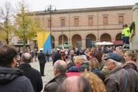 IV Novembre 2018, il discorso del sindaco Alice Parma