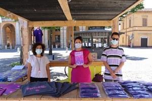La sindaca Alice Parma saluta l'inizio della cinquantesima edizione di Santarcangelo Festival