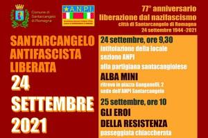 Liberazione di Santarcangelo, per il 77° anniversario tre giorni di iniziative dal 23 al 25 settembre