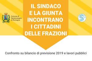 Martedì 5 febbraio sindaco e giunta incontrano i residenti di Canonica, Montalbano, Stradone e Ciola