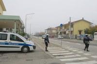 Non si ferma all'alt della Polizia Locale e si dà alla fuga. Bloccato dopo un inseguimento lungo via Santarcangiolese