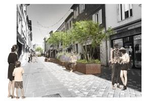 """Nuove """"prospettive"""" in via don Minzoni, l'installazione di verde urbano inaugurata domenica 20 dicembre"""