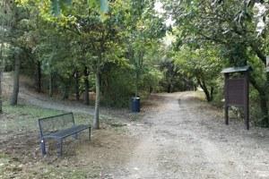 Parco dei Cappuccini, completato il posizionamento dei nuovi arredi