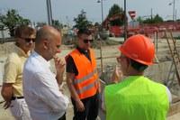 Potenziamento rete fognaria zona stazione, ormai a buon punto i lavori per la realizzazione del nuovo impianto idraulico
