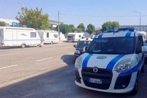 Prosegue l'attività della Polizia municipale di vallata a tutela della zona artigianale