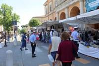Sabato 23 maggio i produttori locali in piazza Marini, lunedì 25 mercato settimanale completo in piazza Ganganelli