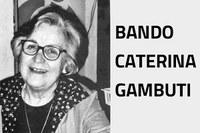 Sei borse di studio in memoria di Caterina Gambuti, le domande entro il 20 novembre