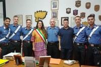 Si conclude il periodo di permanenza dei rinforzi estivi al Comando Stazione dei Carabinieri di Santarcangelo