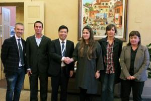 Sindaca e assessori hanno incontrato una delegazione del Centro di Cooperazione Italia-Cina per la Sostenibilità presso la Tongji University di Shanghai