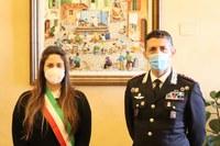 Sindaca Parma e assessore Sacchetti hanno accolto in Municipio il Colonnello dei Carabinieri Mario La Mura