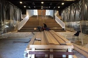 Teatro Lavatoio, in fase avanzata il restyling della sala